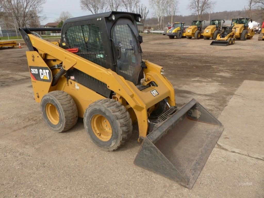 2016 CAT 262D SKID STEER SN:DTB04452 Powered By Cat