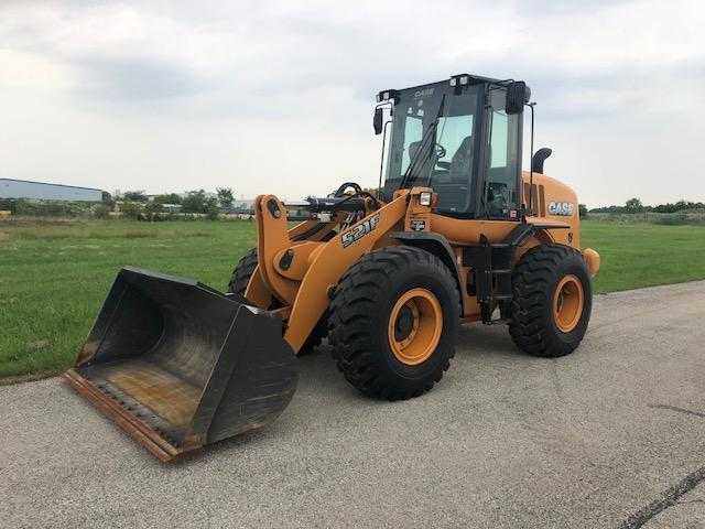 2017 CASE 521F RUBBER TIRED LOADER SN:NGF236291