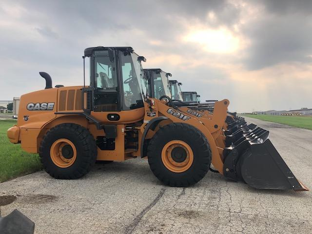 2017 CASE 621F RUBBER TIRED LOADER SN:NGF236151