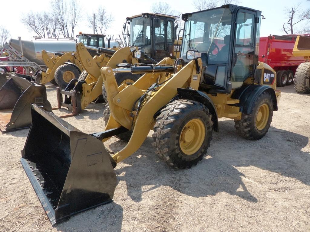 2014 CAT 908H2 RUBBER TIRED LOADER SN:JRD02186 Powered