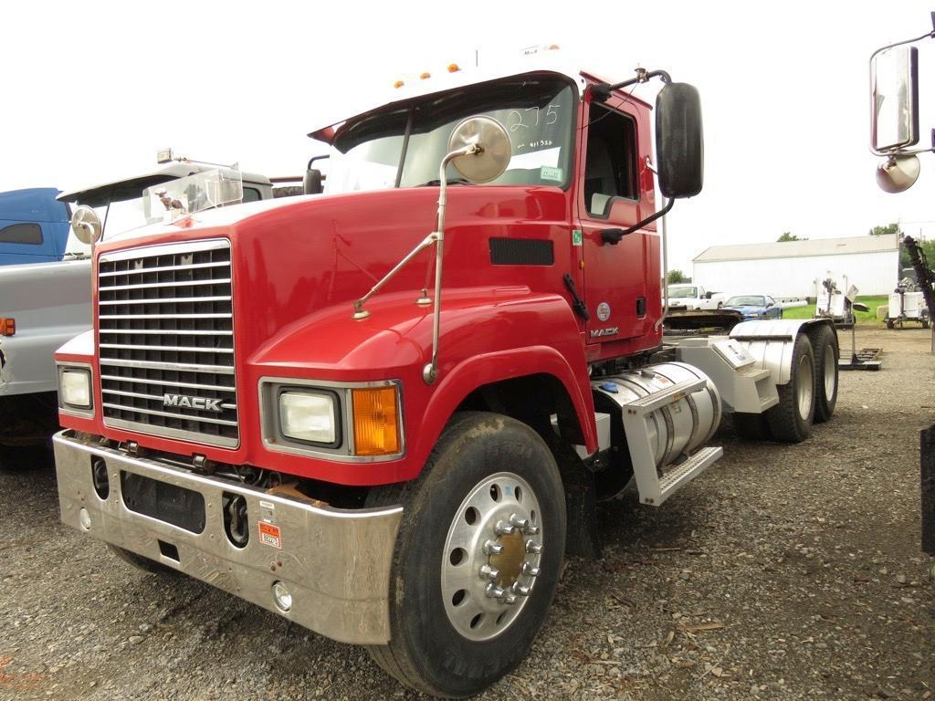 2012 MACK CHU613 TRUCK TRACTOR VN:011320 Powered By