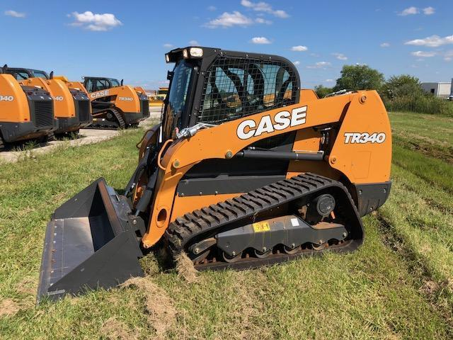 2018 CASE TR340 RUBBER TRACKED SKID STEER Powered By