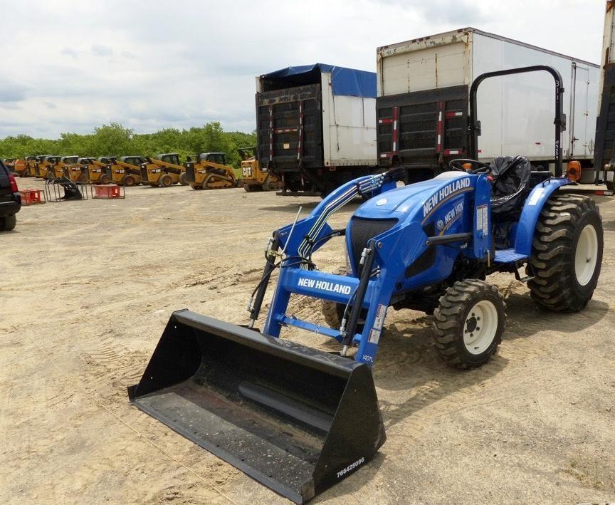 2017 NEW HOLLAND WORKMASTER 33 TRACTOR LOADER SN:3469