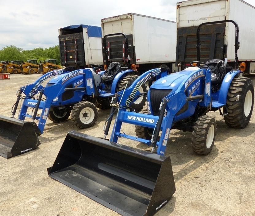 2017 NEW HOLLAND WORKMASTER 33 TRACTOR LOADER SN:3492