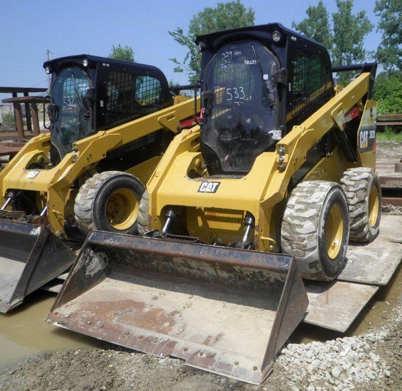 2015 CAT 262D SKID STEER SN:DTB02390 Powered By Cat