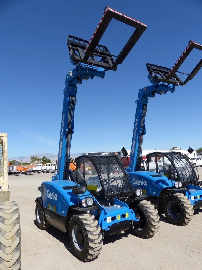 UNUSED GENIE GTH2506 TELESCOPIC FORKLIFT SN:740 4x4