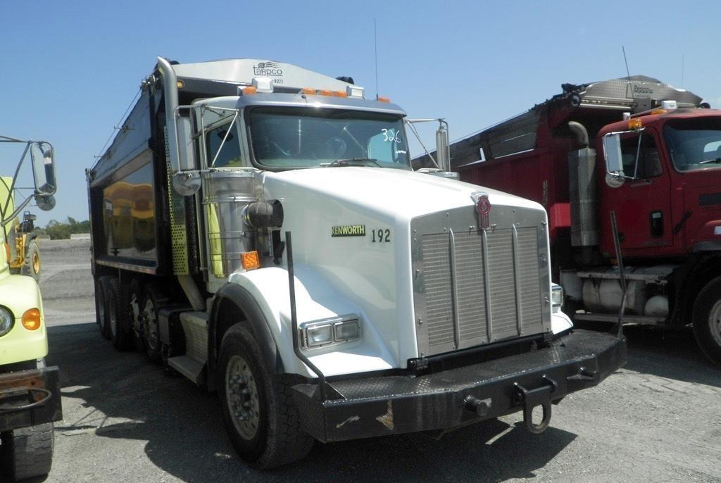 2012 KENWORTH T800B DUMP TRUCK VN:309908 Powered By