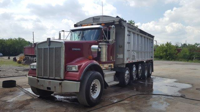 2000 KENWORTH W900 DUMP TRUCK VN:859336 Powered By Cat