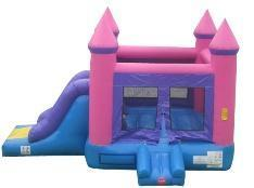 PINK PRINCESS COMBO BOUNCE HOUSE Commercial Grade