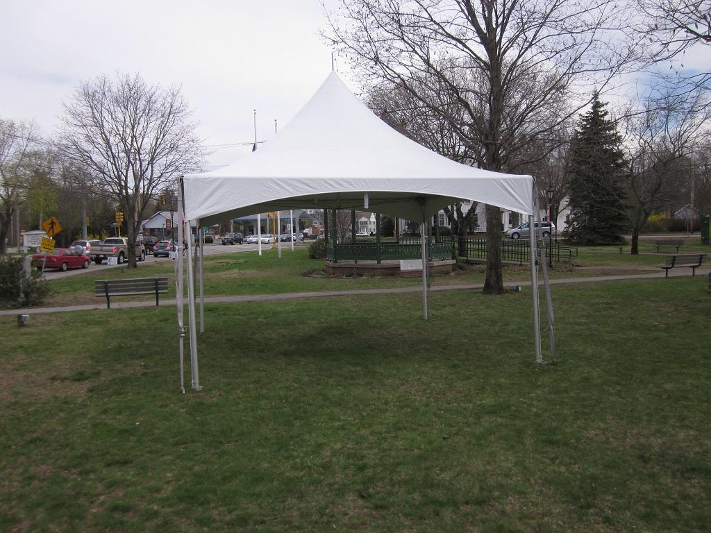 15FT. X 15FT. HIGH PEAK TENT PARTY RENTAL SUPPLIES