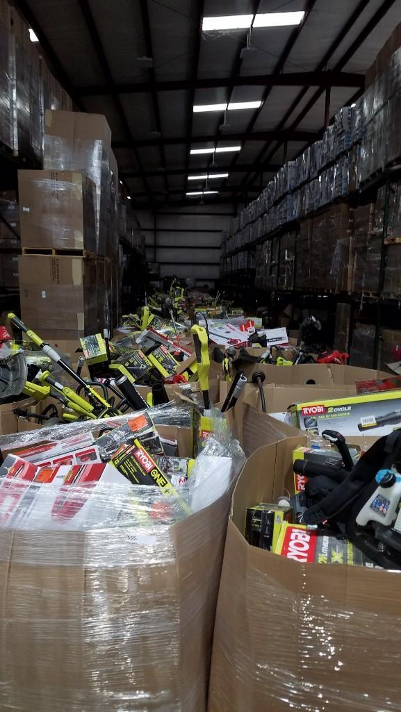 PALLET OF ASSORTED HOME DEPOT MERCHANDISE LAWN &