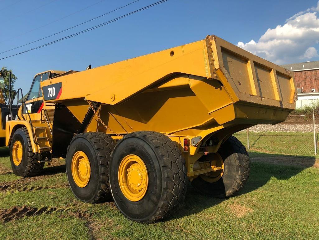 2013 CAT 730 ARTICULATED HAUL TRUCK SN:B1M04424 6x6