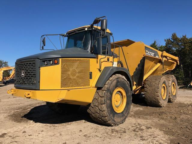 2014 JOHN DEERE 410E ARTICULATED HAUL TRUCK SN:659739