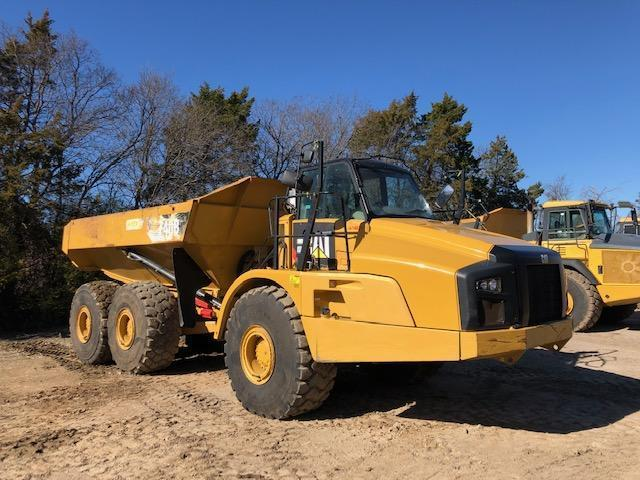 2014 CAT 740B ARTICULATED HAUL TRUCK SN:T4R02345 6x6