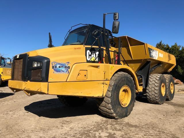 2014 CAT 740B ARTICULATED HAUL TRUCK SN:T4R02347 6x6