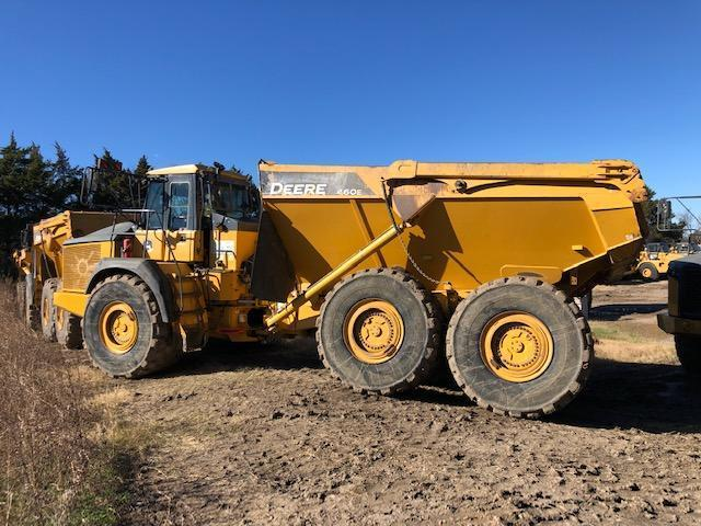 2012 JOHN DEERE 460E ARTICULATED HAUL TRUCK SN:644012