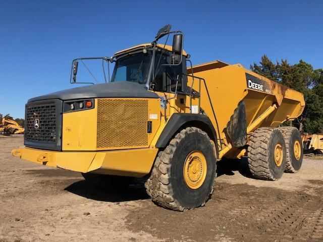 2013 JOHN DEERE 460E ARTICULATED HAUL TRUCK SN:657691