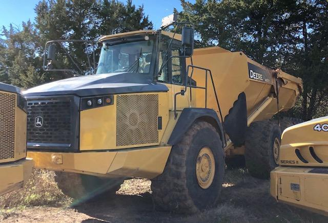 2013 JOHN DEERE 460E ARTICULATED HAUL TRUCK SN:657840