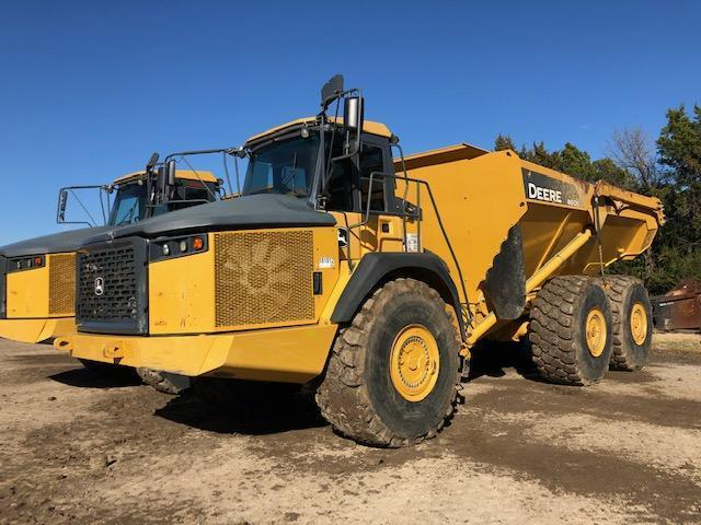 2014 JOHN DEERE 460E ARTICULATED HAUL TRUCK SN:658139