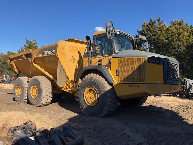 2014 JOHN DEERE 460E ARTICULATED HAUL TRUCK SN:655869