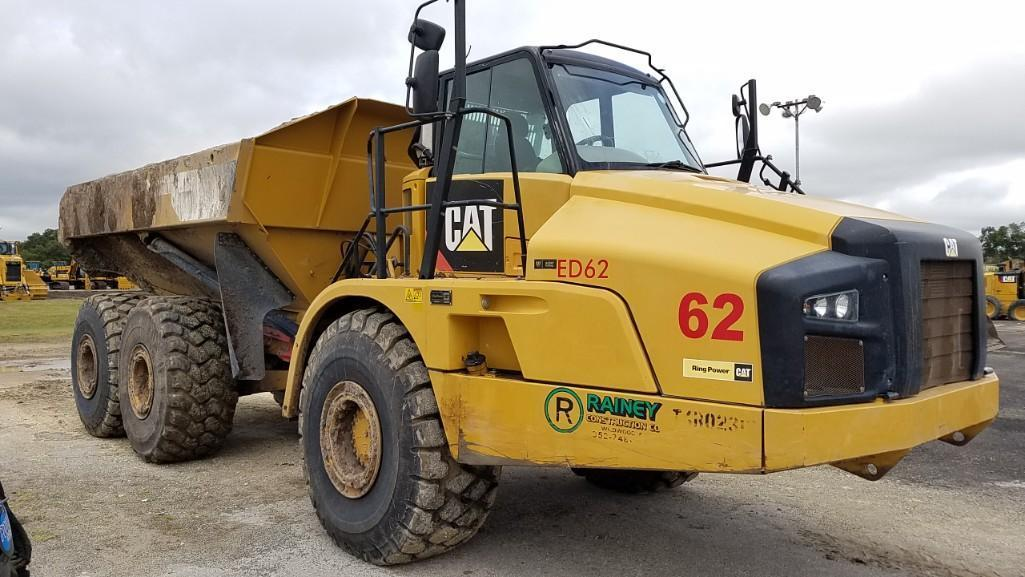 2014 CAT 740B ARTICULATED HAUL TRUCK SN:T4R02312 6x6