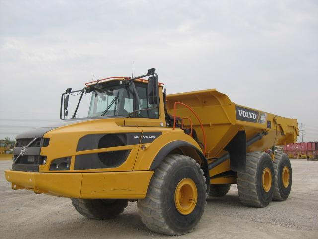 2016 VOLVO A40G ARTICULATED HAUL TRUCK SN:341042 6x6