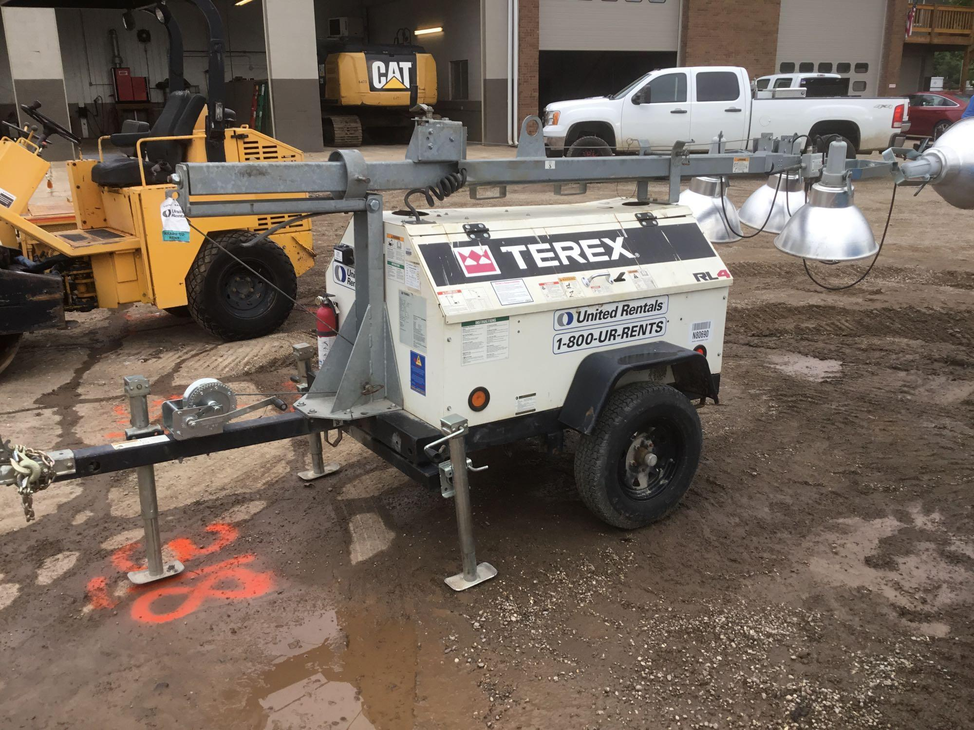 2013 TEREXRL4 LIGHT PLANT SN:7382 Powered By Diesel