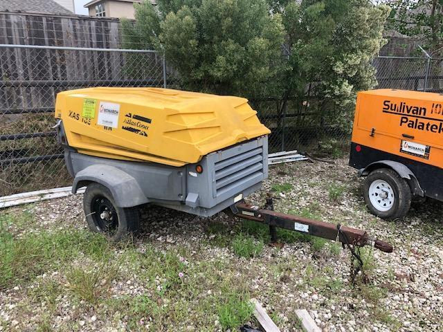 2007 ATLAS COPCO XAS185JD AIR COMPRESSOR SN:8972426016