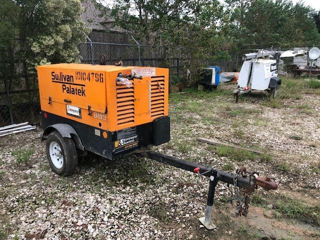 SULLIVAN D185P3JD AIR COMPRESSOR SN:100738 Powered By