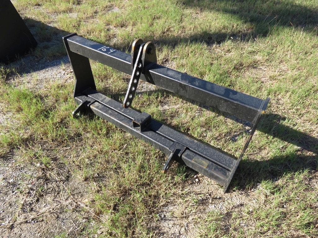 NEW WILDKAT 3 POINT HITCH SKID STEER ATTACHMENT