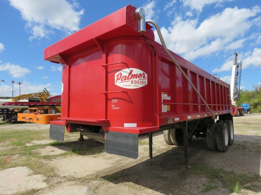 UNUSED 2017 PALMER TA-24H DUMP TRAILER VN:003364