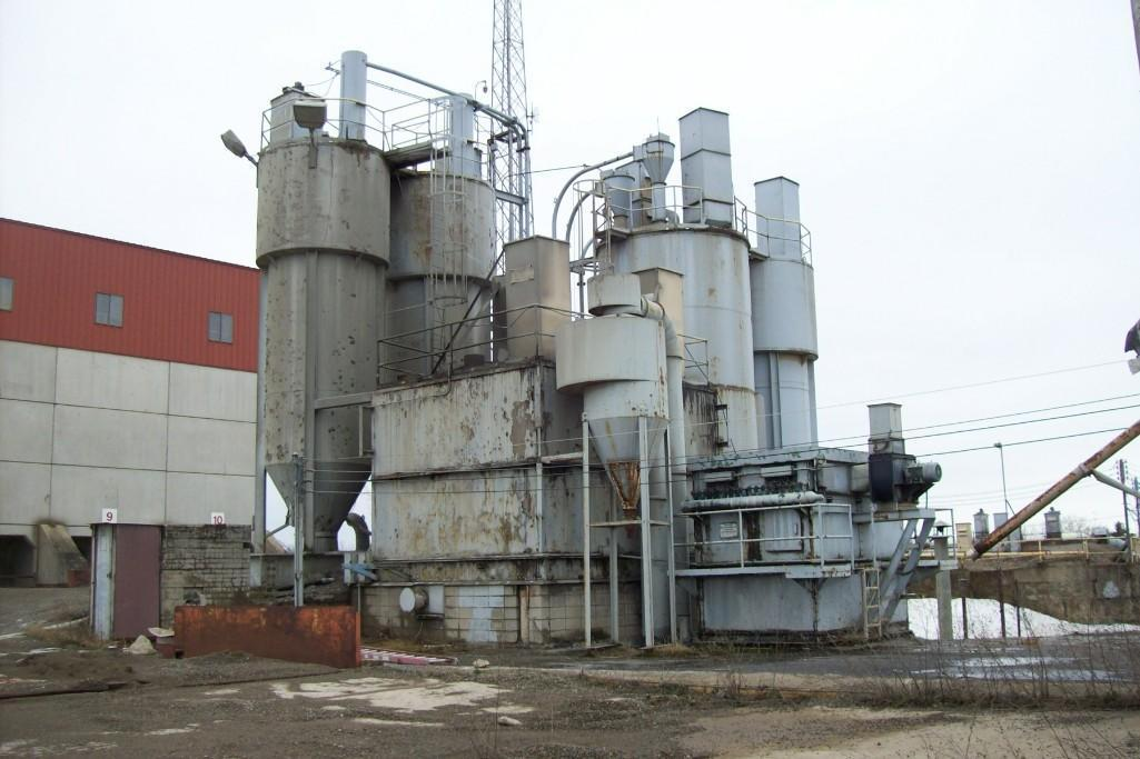 STATIONARY 10 CUBIC YARD DRY BATCH PLANT CONCRETE