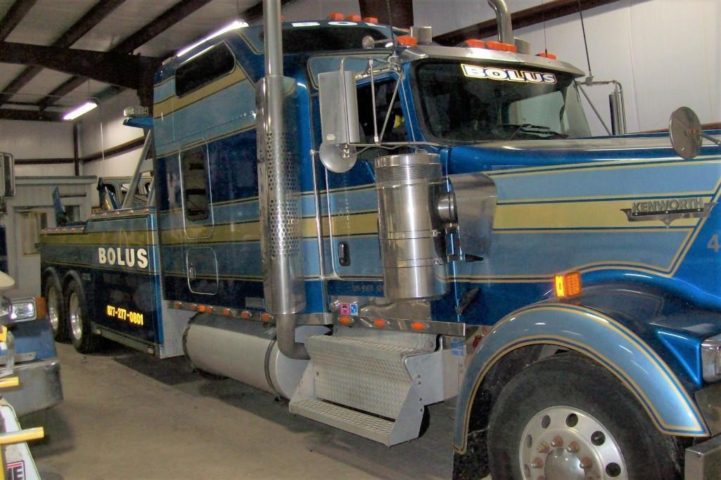 2007 KENWORTH W900 WRECKER (TOW) TRUCK VN:166449