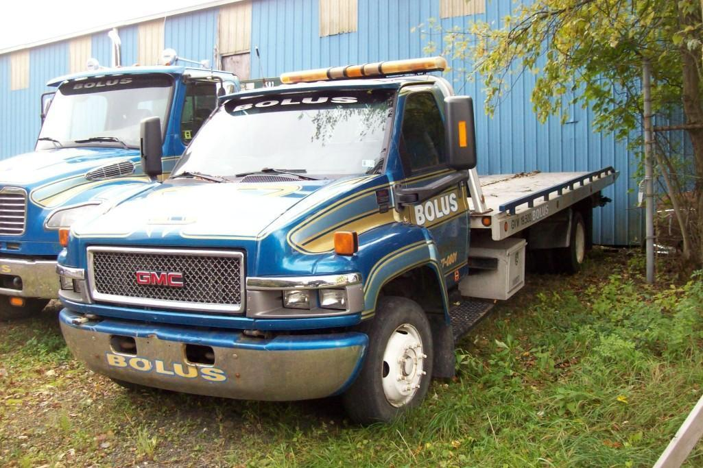 2005 GMC C6500 ROLLBACK TRUCK VN:522826 Powered By