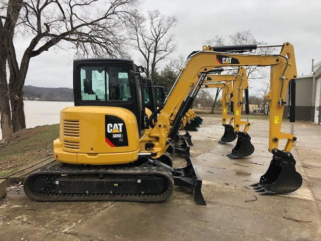 2018 CAT 305E2CR HYDRAULIC EXCAVATOR Powered By Cat