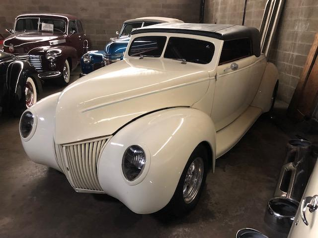 1939 FORD CONVERTIBLE COLLECTIBLE VEHICLE VN:HY9836