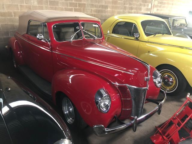 1940 FORD DELUXE COLLECTIBLE VEHICLE VN:N/A 350 Chevy