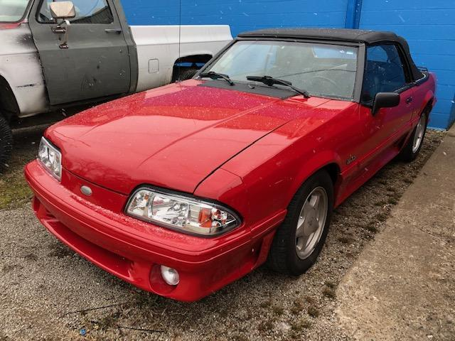 1993 FORD MUSTANG 5.0 COLLECTIBLE VEHICLE VN:138798