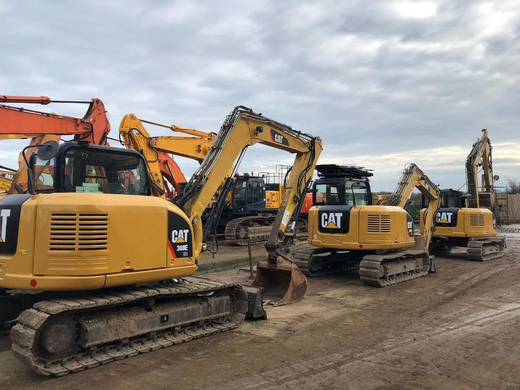 2014 CAT 308E HYDRAULIC EXCAVATOR SN:GBJ01812 Powered