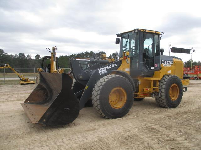 2015 JOHN DEERE 544K RUBBER TIRED LOADER SN:VEE666259