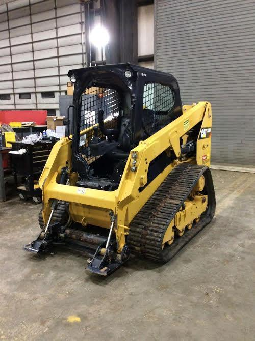 2016 CAT 239D RUBBER TRACKED SKID STEER SN:BL900769