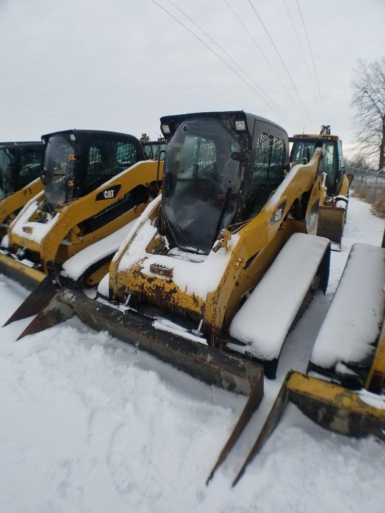 2012 CAT 289C RUBBER TRACKED SKID STEER