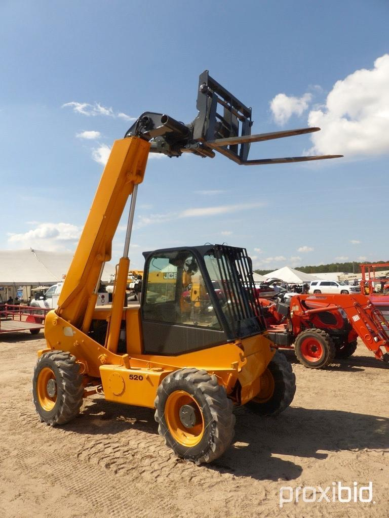 JCB 520 TELESCOPIC FORKLIFT SN:754399 4x4 Powered By