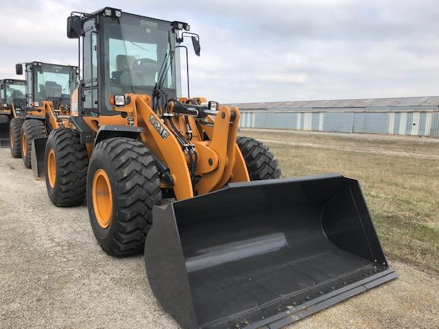 2017 CASE 521F RUBBER TIRED LOADER Powered By FPT