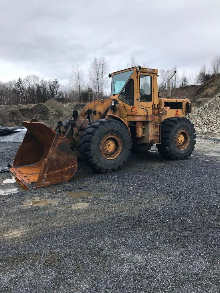 CAT 966C RUBBER TIRED LOADER SN:76J14923 Powered By