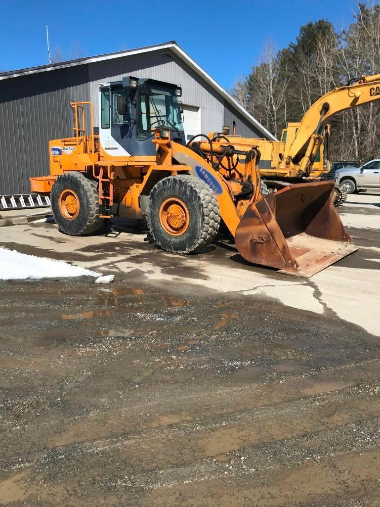 SAMSUNG SL150-2 RUBBER TIRED LOADER SN:MBY320 Powered