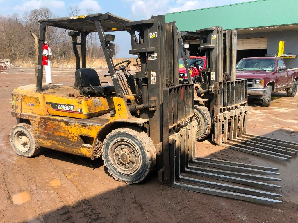 CAT 80 FORKLIFT SN:12981 Powered By Diesel Engine