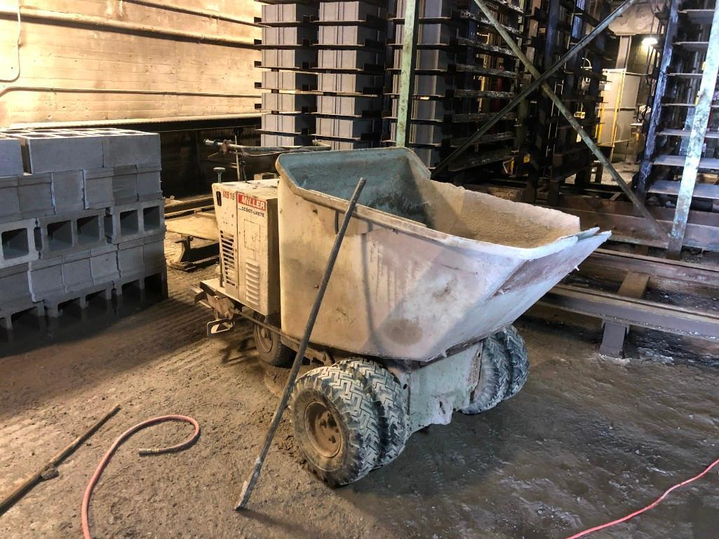 MILLER MB16 CONCRETE BUGGY CONCRETE EQUIPMENT Powered
