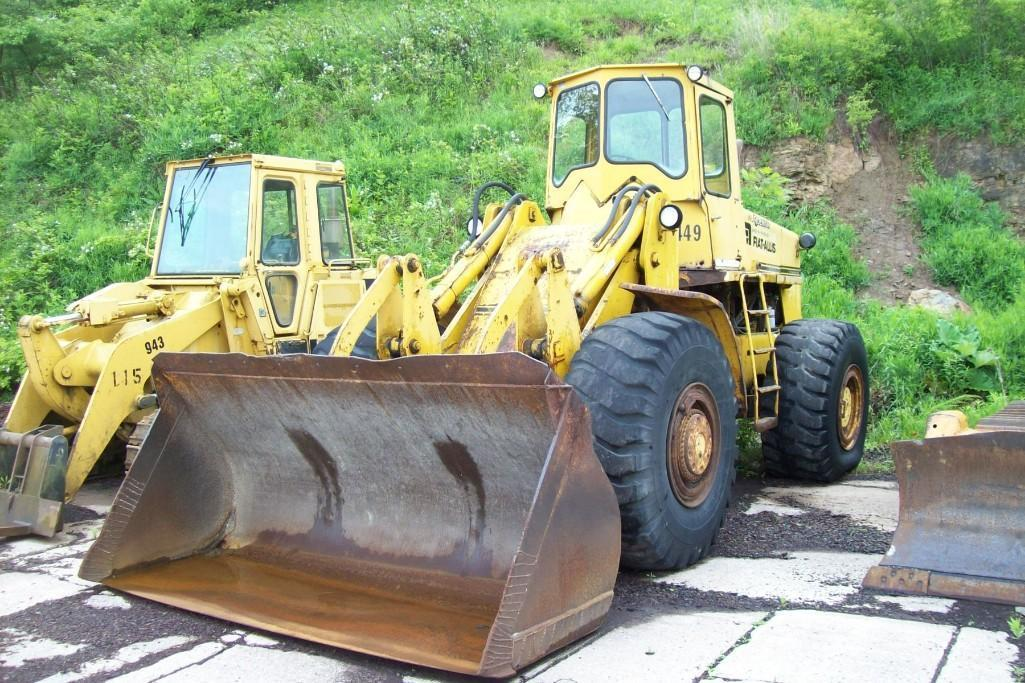 FIAT ALLIS 745B RUBBER TIRED LOADER Powered By Allis
