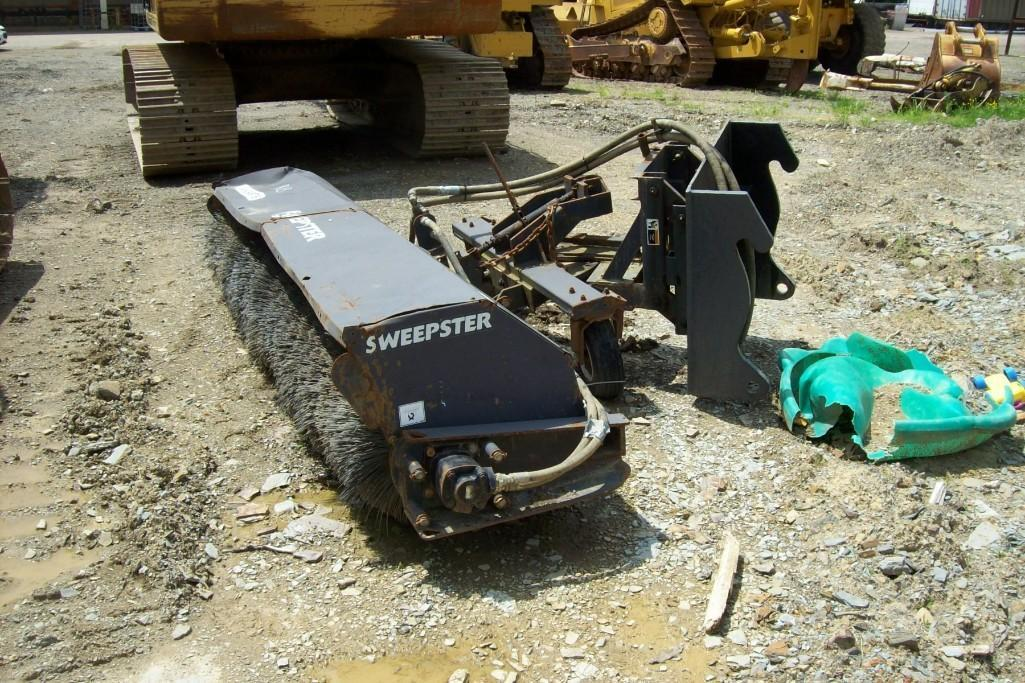 SWEEPSTER 10FT. BROOM RUBBER TIRED LOADER ATTACHMENT